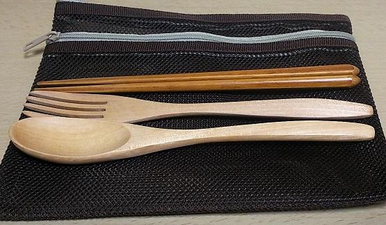 木製カトラリーセット